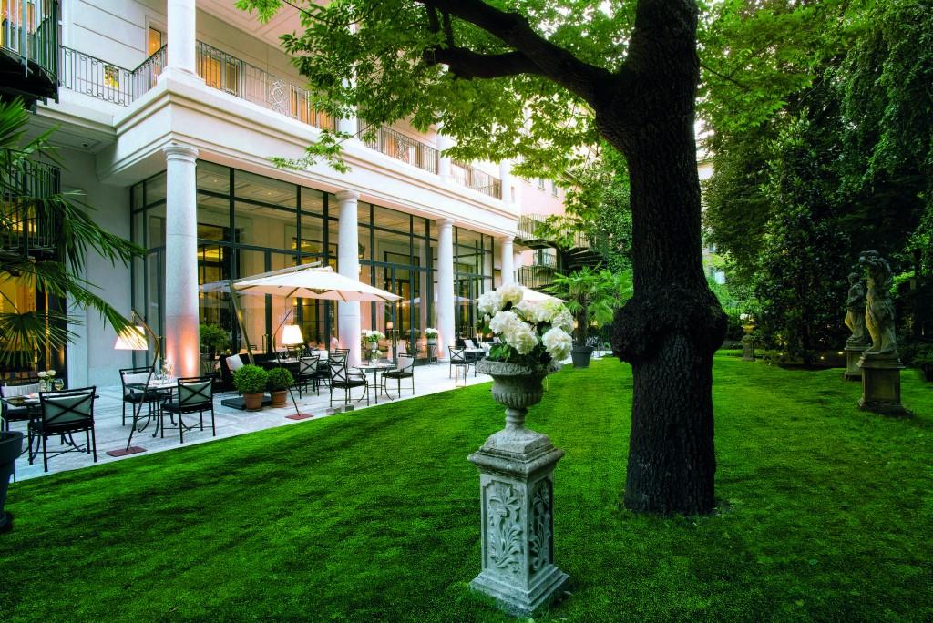 Palazzo Parigi Private Garden