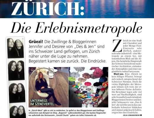 Madonna: Travel Diary - Zürich