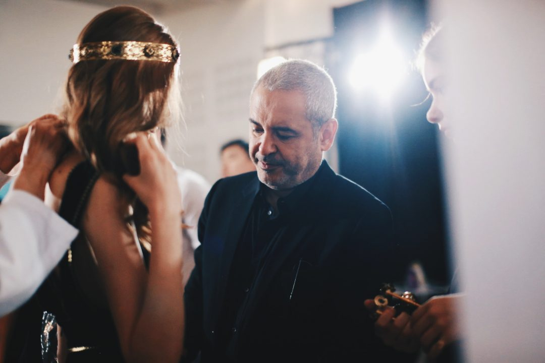 Backstage Moments with Elie Saab Des & Jen
