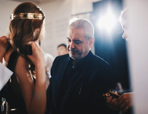 Backstage Moments with Elie Saab Des & Jen