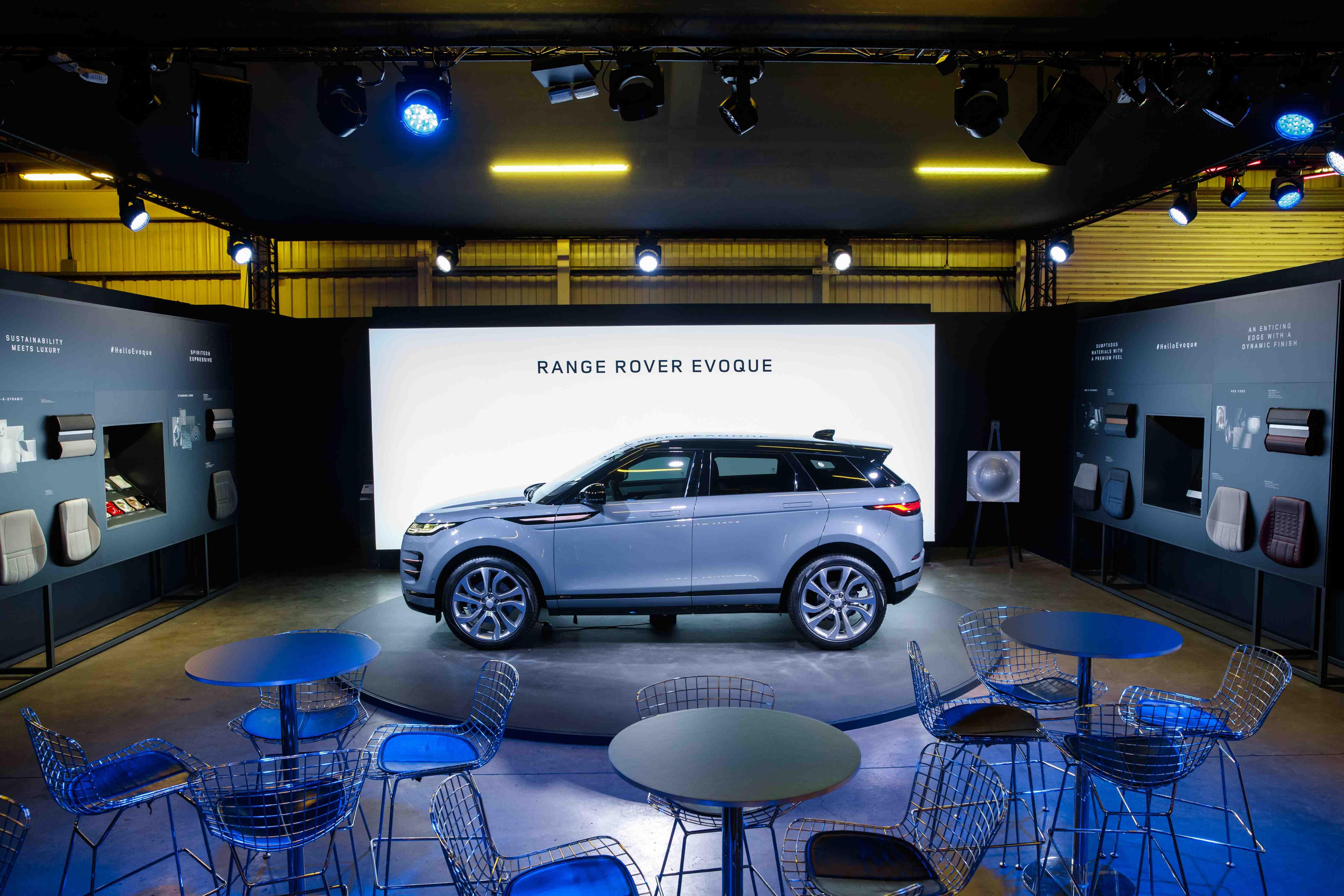 Der neue range rover evoque 2020
